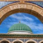 Traditional architecture of Mausoleum in Monastir, Tunisia — Stock Photo #65923823