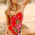 Multicolored One Piece - Hot Model — Stock Photo #52400881