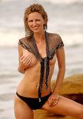 Playboy Model Aubrie Lemon - Swimwear Shoot — Foto Stock