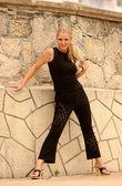 Playboy modelo rebecca newell — Foto de Stock