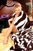 Implied Nude - Stunning Blond — Stock Photo