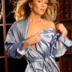 Постер, плакат: Supermodel posing in sexy lingerie