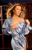 Supermodel posing in sexy lingerie — Stock Photo