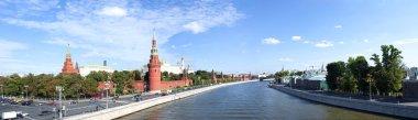 Panorama of Moscow. Kremlin.