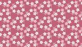 Sakura Japanese Cherry seamless pattern vector background. — Stock Vector