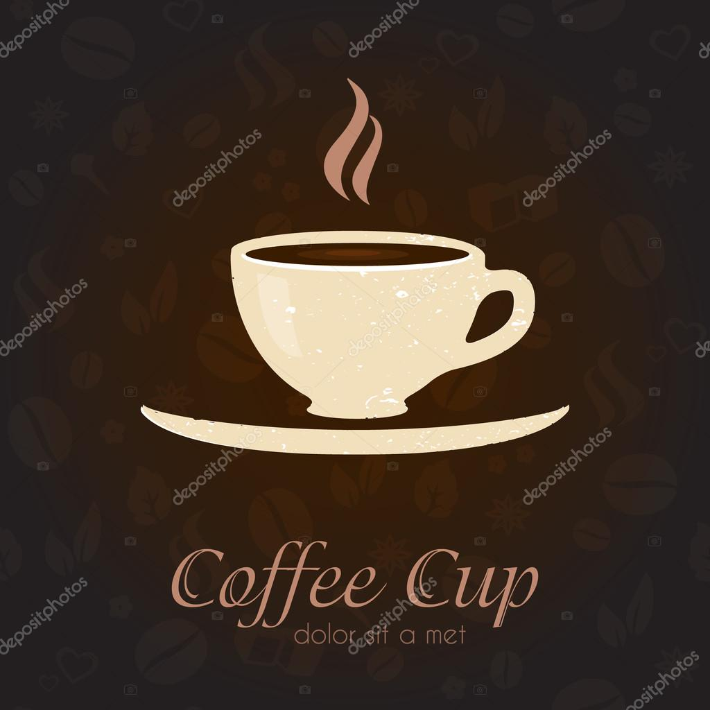 Coffee cup business sign identity vector template for Coffee business