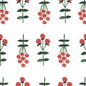 Akvarell sömlös blommönster — Stockvektor
