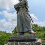 ������, ������: Statue of Ryoma Sakamoto in Nagasaki Japan