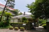 Ingresso di higashi-yamate 12 bankan a nagasaki, Giappone — Foto Stock