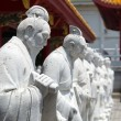 ������, ������: 72 followers statues of Confucian Temple in Nagasa
