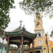The Saint-Francis Church (Cham Tam Church) in Ho Chi Minh, Vietnam — Stock Photo #52744899