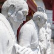 Постер, плакат: 72 followers statues of Confucian Temple in Nagasa