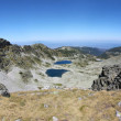 Mountain View from Musala peak - Rila mountains, Bulgaria — Stock Photo #52989303