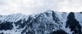 Beautiful winter landscape mountains — Stock Photo