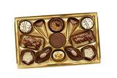 Chocolate classics gift box — Stock Photo
