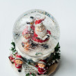 Snow globe with Santa Claus inside — Stock Photo #74377269