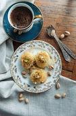 Traditional Middle Eastern dessert baklava — Stock Photo