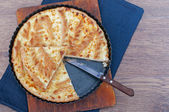 Flaky Cottage Cheese Pie Crust  — Stok fotoğraf