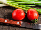 Cebolla fresca — Foto de Stock