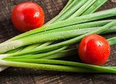 Fresh  onion — Stock Photo