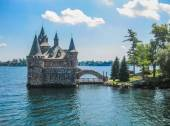 Boldt Castle, St Lawrence river, USA-Canada Border — Stock Photo