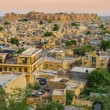 India, panoramic view of Jaisalmer Fort, the golden city — Stock Photo #62559213