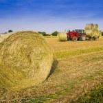 Hay harvesting machine — Stock Photo #75838247