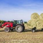"""""""Hay harvesting machine — Stock Photo #78548918"""