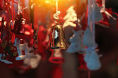 Christmas beautful  decorations — Stock Photo