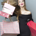 Stylish shopping girl — Stock Photo #70092677