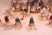 Figurines of  nativity scene — Stock Photo