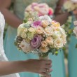 Beautiful bouquet of roses — Stock Photo #79409148