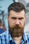 Portrait of beautiful man outdoor — Stock Photo