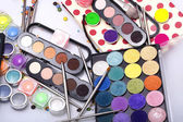 Colorful make-up set — Stock Photo