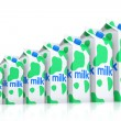 Carton milk packages — Stock Photo #52347255