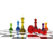 Chess Game — Stockfoto