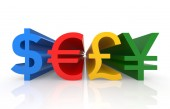 Currency Symbols — Stock Photo