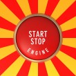 Engine Start - Stop Button — Stock Photo #56635491