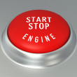 Engine Start - Stop Button — Stock Photo #56635653