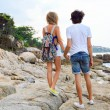 Couple in love travel together — Stock Photo #75377367