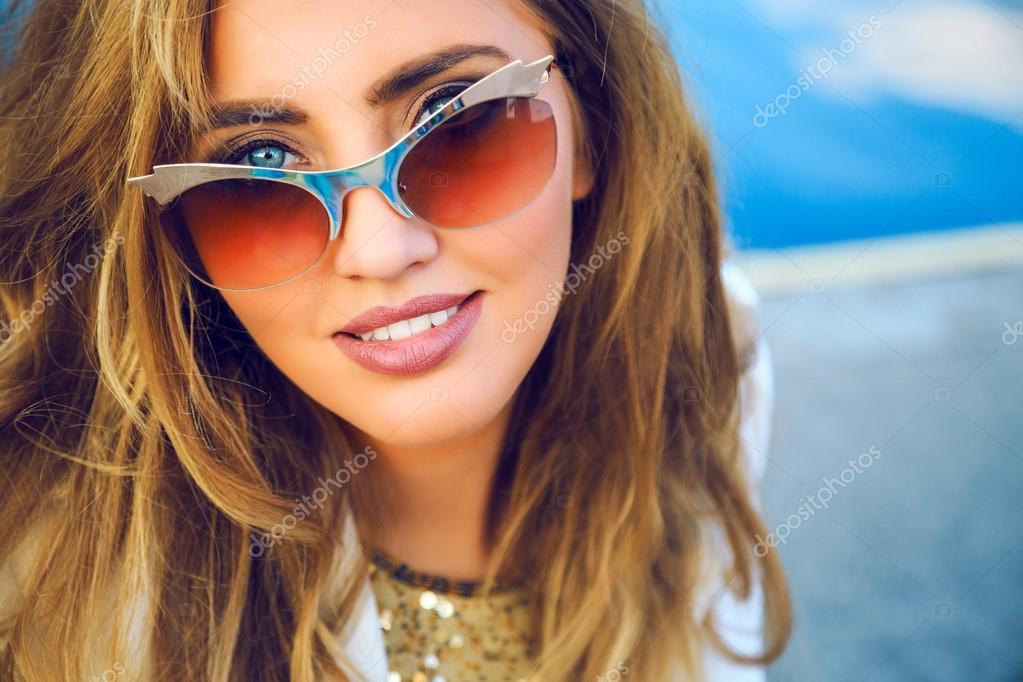 Как сделать красивое фото в очках