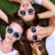 Three young best friends girls — Stock Photo #79461174