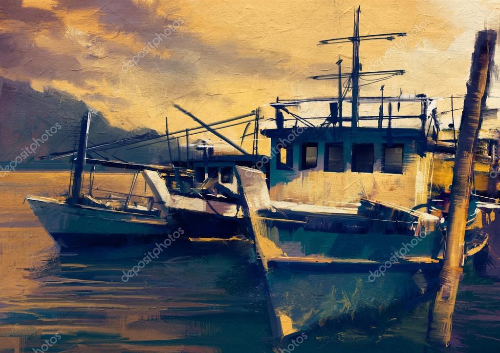 рибальський човен скачати фото