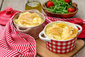 French traditional potato meal Tartiflette — Stock Photo