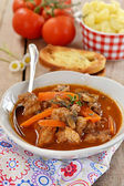 French beef stew with tomato sauce — Stock Photo