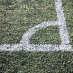 The corner of football — Stock Photo #65660417