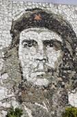 Che Guevara stone mosaic — Φωτογραφία Αρχείου