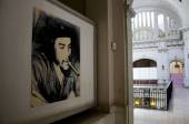Che Guevara photo inside the Revolution Museum — Stock Photo