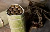 Typical Cubano cigars — Stok fotoğraf
