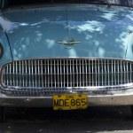 Old fashioned cuban car — Stock Photo #52395889